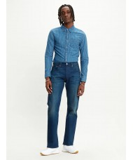 Levi's 501 Regular Fit Jean in  Colour Boared Blue Style # 005012948