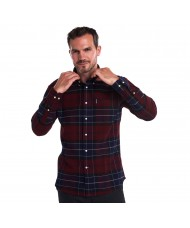 Barbour Lustleigh Check Shirt In Red - MSH3749RE94