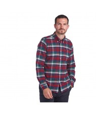 Barbour Highland Check 18 Tailored Shirt In Red MSH4552RE51