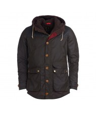 Barbour Game Parka In Olive Green MWX0698OL