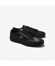 Lacoste Gripshot Leather Trainer in Black