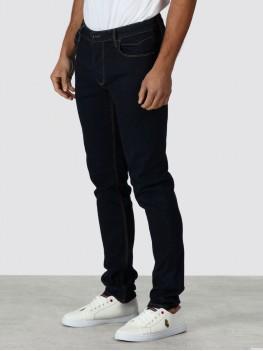 "Luke ""Vacuums"" Stretch Jeans in Very Dark Blue - Slim Tappered Fit - ZM180502"