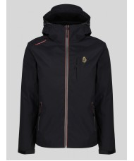 Luke Sport Nice Chopper Hooded Jacket In Black - M560751