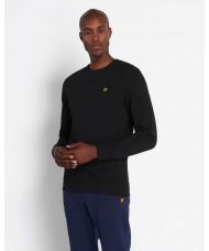 Lyle & Scott Jet Black Cotton Sweatshirt - ML424VTR