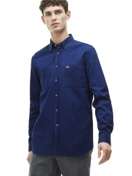 Lacoste Regular Fit Denim Shirt With Pockets - CH9566 00 166