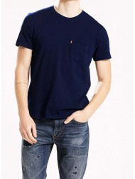 Levi's® Sunset Pocket Tee - In Saturated Indigo - 29813-0014