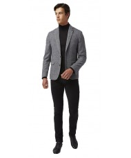 "Remus Uomo ""Novo"" Slim Fit Wool-Rich Jacket - Grey"
