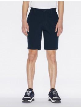 Armani Exchange Chino Shorts In Navy -  8NZS42 ZN24Z