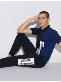 Armani Exchange Navy Track Suit Bottoms - 3GZPAD ZJ5CZ