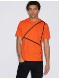 Armani Exchange T-Shirt With Print In Orange 3GZTFN-ZJV5Z