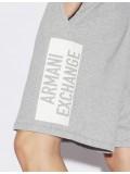 Armani Exchange Grey Sweatshirt Bermudas 3GZSAD ZJ5CZ