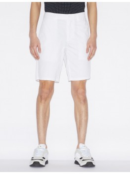 Armani Exchange Chino Shorts In White -  8NZS42 ZN24Z