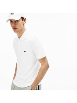 Lacoste Men's Regular Fit Pima Cotton Polo Shirt - In White - DH2050 00 F9C