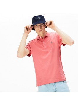 Lacoste Men's Regular Fit Pima Cotton Polo Shirt - In Pink - DH2050 00 F9C