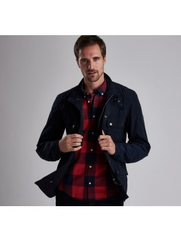 Barbour International Weir Casual Jacket In Navy Blue - MCA0545NY71