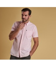 Barbour Oxford Short Sleeve Shirt In Pink - MSH4026PI17