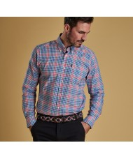 Barbour Gingham Tattersall 3 Tailored Fit Shirt-  Multi Colour - MSH4445PI51