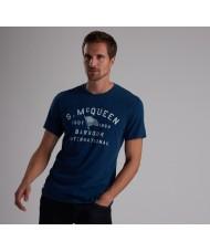 Barbour International Steve McQueen™ Boon T Shirt In Navy - MTS0525BL21