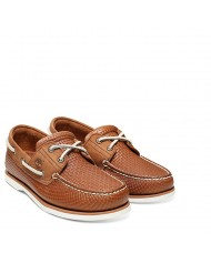 Timberland  Men's Classic Two Eye Boat Shoe In Tan Style Number TB 0A21HMK43