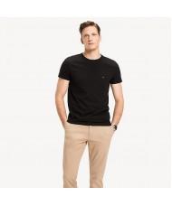 Tommy Hilfiger Stretch Slim Fit T Shirt In Black
