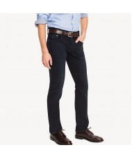 Tommy Hilfiger Denton Straight Fit Stretch Jean In Blue Black