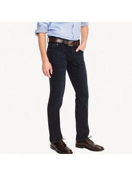 Tommy Hilfiger Denton Straight Fit Stretch Jean In Blue Black