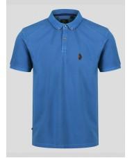 """Luke """"Reefer"""" Polo Shirt In Colbolt Blue - M471403"""