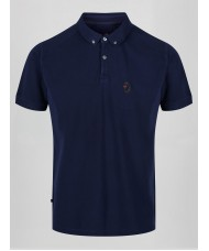 "Luke ""Reefer"" Polo Shirt In Navy Blue - M471403"