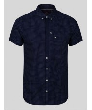 Luke Wockney's Pencil 2 short sleeve shirt In Navy Blue - M470804