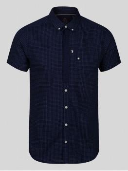 Luke Wockney's Pencil 2 short sleeve shirt In Navy Blue - M470804