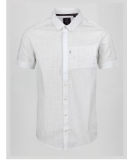 Luke Wockney's Pencil 2 short sleeve shirt In Concrete Colour- M470804
