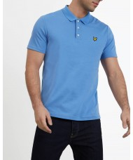 Lyle & Scott Soft Touch Polo Shirt In Cornflower Blue - SP905V