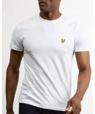 Lyle & Scott Crew Neck T-Shirt In White - TS400V