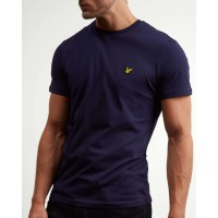 Lyle & Scott Crew Neck T-Shirt In Navy Blue - TS400V