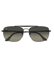 Ray-Ban Colonel - Grey Gradient Lenses & Black Frame - RB3560 002/71 6117 145 3N