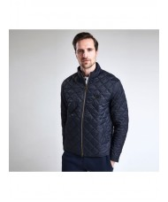Barbour International Gear Quilted Jacket In Navy - MQU0947NY91