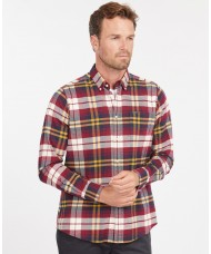 Barbour Men's Betsom Check Tailored Shirt In Red - MSH4998RE51