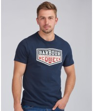 Barbour International Steve McQueen™ Torx T-Shirt In Navy Blue- MTS0878NY91