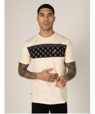 Luke Sport Lions Den Crew Neck T Shirt In Cream - M560151