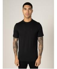Luke Mainline Pima Crew Neck T-Shirt In Jet Black - M620107