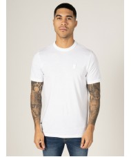 Luke Mainline Pima Crew Neck T-Shirt In White - M620107