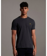 Lyle & Scott Crew Neck T-Shirt In Charcoal Marl - TS400V