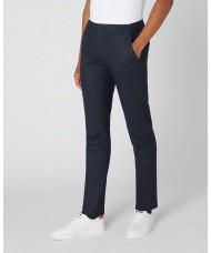 Remus Uomo X-Slim Wool Rich Trouser In Navy Blue - 4_72324_78