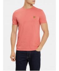 Lyle & Scott Crew Neck T-Shirt In Sunset Pink - TS400V