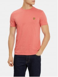 Lyle & Scott Crew Neck T-Shirt In Sunset Pink - TS400V