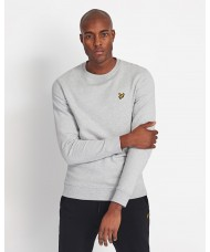 Lyle & Scott Light Grey Marl Cotton Sweatshirt - ML424VTR