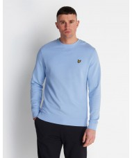 Lyle & Scott Pool Blue Cotton Sweatshirt - ML424VTR