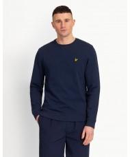 Lyle & Scott Navy Blue Cotton Sweatshirt - ML424VTR