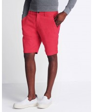 Lyle & Scott Chino Shorts In Geranium Pink - SH800V