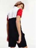 Tommy Hilfiger Colour-Blocked Regular Fit Polo - MW0MW 13107 OA5